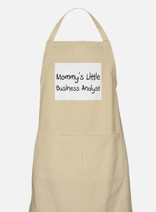 Mommy's Little Business Analyst BBQ Apron