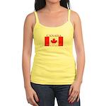 Canada Canadian Flag Jr. Spaghetti Tank