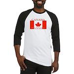 Canada Canadian Flag Baseball Jersey
