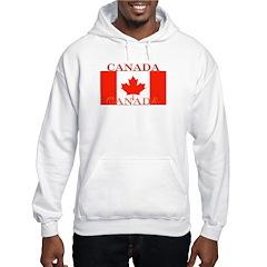 Canada Canadian Flag Hoodie