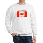 Canada Canadian Flag Sweatshirt