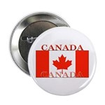 Canada Canadian Flag Button