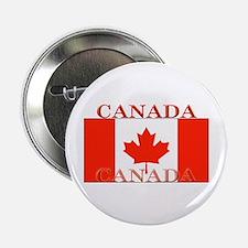 Canada Canadian Flag Button