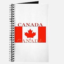 Canada Canadian Flag Journal