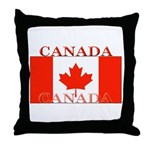 Canada Canadian Flag Throw Pillow