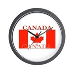 Canada Canadian Flag Wall Clock