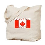 Canada Canadian Flag Tote Bag