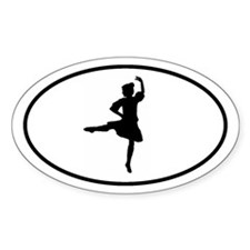 HIGHLAND STICKERS Oval Sticker (10 pk)