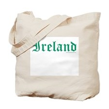Ireland (Old Text) - Tote Bag