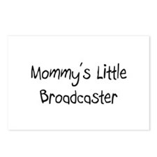 Mommy's Little Broadcaster Postcards (Package of 8