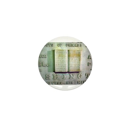 WASHINGTON MONUMENT SCRIPTURE Mini Button