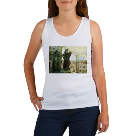 LIBRARY OF CONGRESS MOSES Women's Tank Top