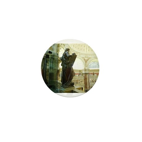 LIBRARY OF CONGRESS MOSES Mini Button