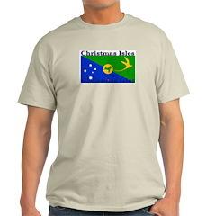 Christmas Island Ash Grey T-Shirt