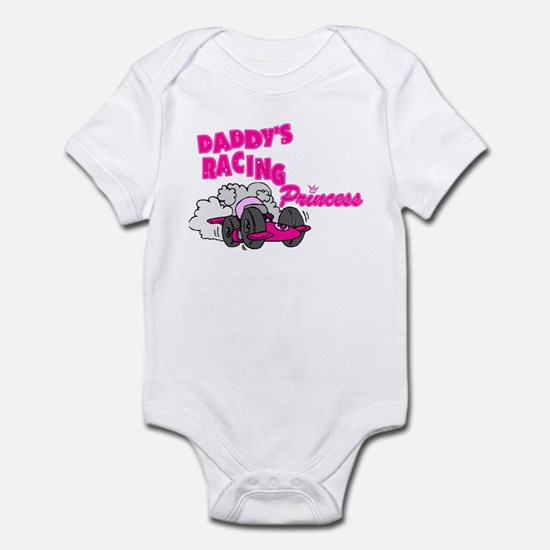 Daddy's Racing Princess Infant Bodysuit
