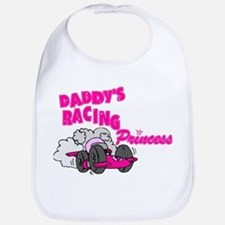 Daddy's Racing Princess Bib