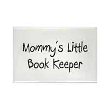 Mommy's Little Book Keeper Rectangle Magnet