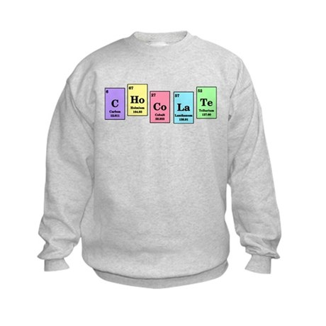 Elemental Chocolate Kids Sweatshirt