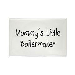 Mommy's Little Boilermaker Rectangle Magnet