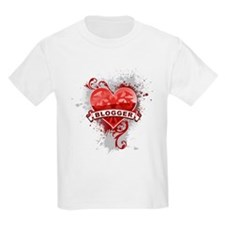 Heart Blogger T-Shirt