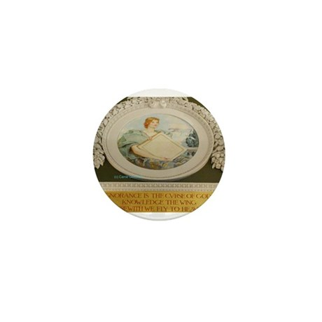 LIBRARY OF CONGRESS NORTH WAL Mini Button (10 pack
