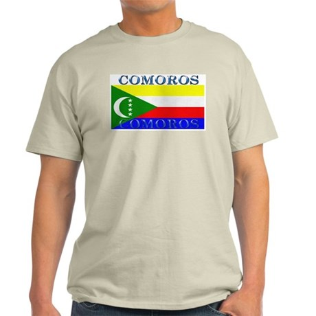 Comoros Ash Grey T-Shirt