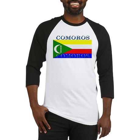 Comoros Baseball Jersey