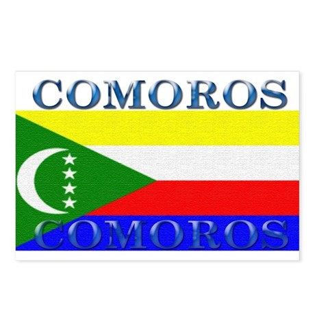 Comoros Postcards (Package of 8)