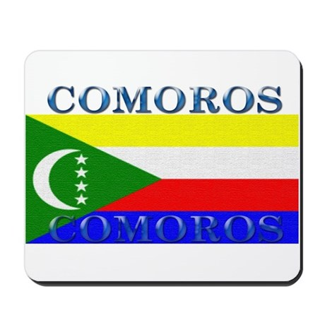 Comoros Mousepad
