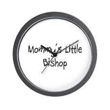 Mommy's Little Bishop Wall Clock