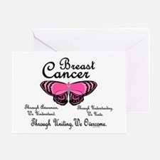 Butterfly Awareness 1 (Breast Cancer) Greeting Car