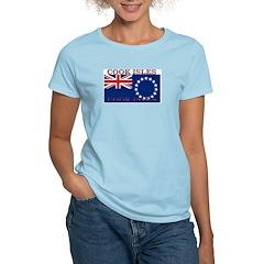 Cook Islands Women's Pink T-Shirt