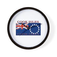 Cook Islands Wall Clock
