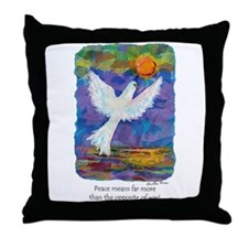 What Peace Means - Throw Pillow