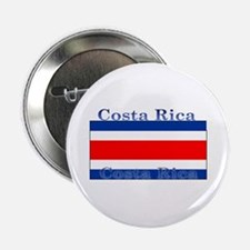 Costa Rica Costa Rican Flag Button