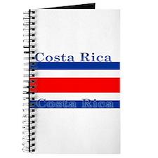 Costa Rica Costa Rican Flag Journal