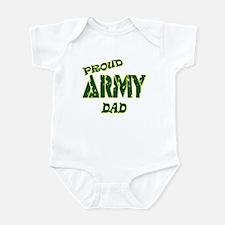 PROUD ARMY DAD Infant Bodysuit