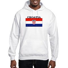 Croatia Croatian Flag Hoodie