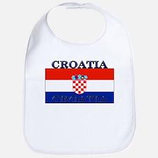 Croatia Croatian Flag Bib