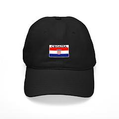 Croatia Croatian Flag Baseball Hat