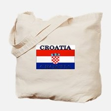 Croatia Croatian Flag Tote Bag