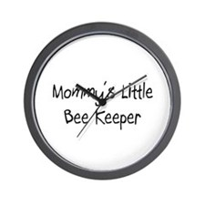 Mommy's Little Bee Keeper Wall Clock