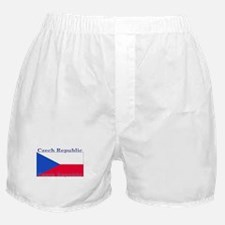 Czechoslovakia Czech Flag Boxer Shorts