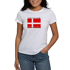 Denmark Danish Flag Tee