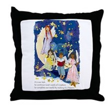 Complete Our World - Throw Pillow