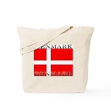 Denmark Danish Flag Tote Bag