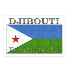 Djibouti Postcards (Package of 8)
