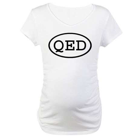 QED Oval Maternity T-Shirt