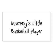 Mommy's Little Basketball Player Decal