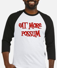 Eat More Possum Baseball Jersey